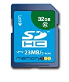 Memory2Go 32GB SDHC Secure Digital Hgh Capcitity - Class 10 Memory Card