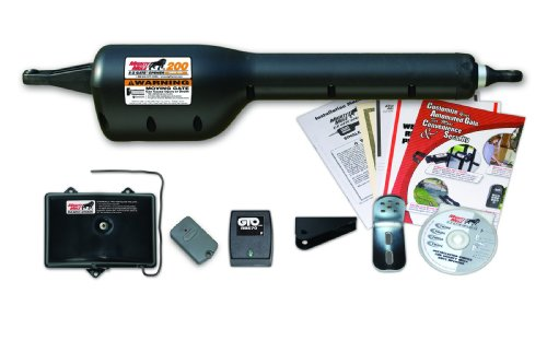 Mighty Mule Automatic Gate Opener for Single Swing Gates Up to 12 Feet Long or 300 Pounds (FM200) (Master Implement Kit compare prices)