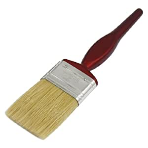 Flat faux bristle oil paint brush 2 inch width for Faux painting brushes