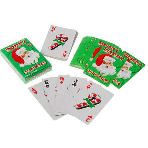 US Toy Company XM508 Christmas Playing Cards - 1