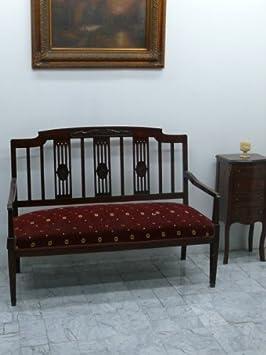Barock Bank Antik Stil Sitzbank Louis XV Rokoko aba3