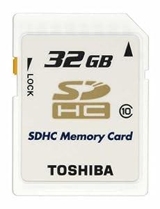 TOSHIBA SDHCメモリカード Class10 32GB SD-AX32GWF [フラストレーションフリーパッケージ(FFP) /
