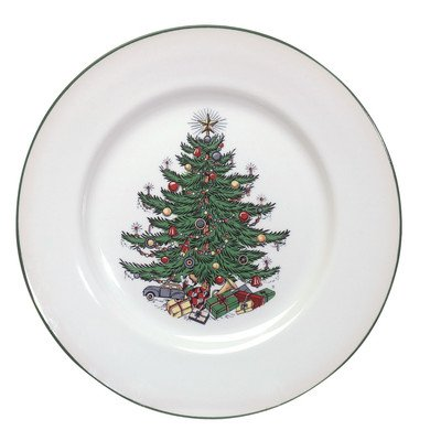 Original Christmas Tree Traditional 5 Piece Place Setting Cuthbertson Christmas Tree