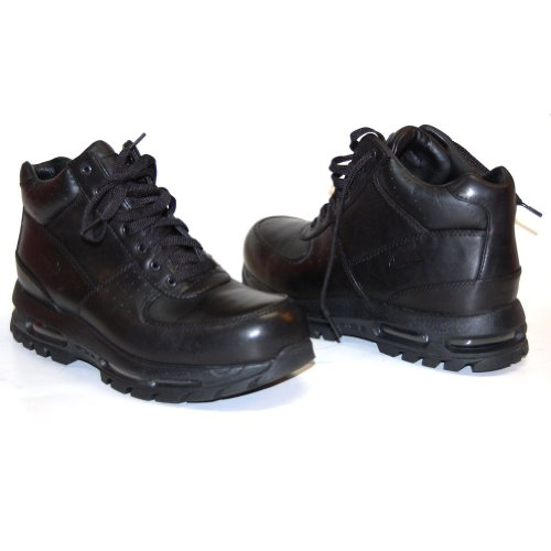 nike air max goadome acg black leather mens boots 865031