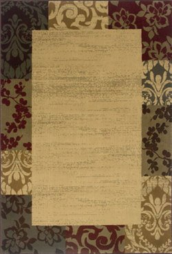 "Amelia Floral Muti Contemporary Rug Size: 9'10"" x 12'9"""