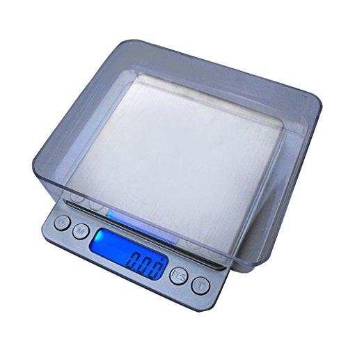 Weiheng WH-I2000 500g*0.01g Mini Balance à bascule Digital balance numérique
