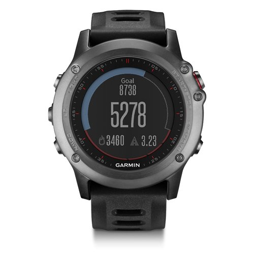 Garmin Fenix 3 GPS Fitness Watch Gray (Certified Refurbished)