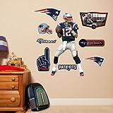 (17x32) Tom Brady - Fathead Jr. Wall Decal