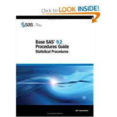 Base SAS 9.2 Procedures Guide