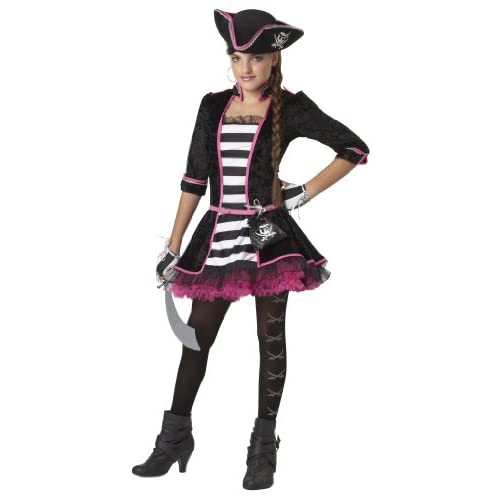 High Seas Pirate Girls Costume