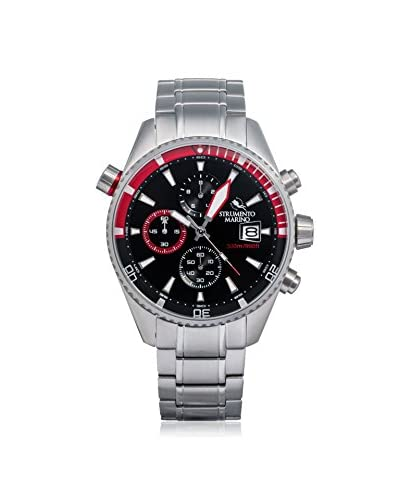 Strumento Marino Men's Black/Red SM113MB/SS/NR/RS Watch