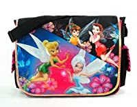Messenger Bag - Disney - Tinker Bell - Pixie Forest Black from Disney