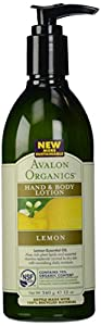 Hand & Body Lotion, Lemon, 12 oz