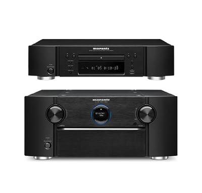 Marantz AV8801 A/V Preamplifier and UD5007 Universal Blu-Ray Disc Player Bundle by Marantz