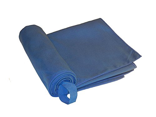 Bear Essentials Camping Towel – #1 Rated Classic Navy Blue Microfiber. Large Rectangular Design, Large Size 31″ X 48″, X-Large Size 31″ X 62″. Guaranteed Bleed Free. Ultra Durable Hiking Gear. Lightweight Quick Dry. Anti-Bacterial and Machine Washable for Hundreds of Uses. Camping Backpacking Hiking Must Have Product. Ultra-Absorbent and Folds Extremely Slim. By NWM Innovations.