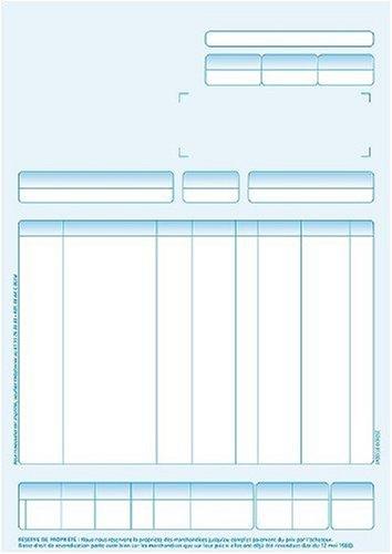 Ciel Préimprimés Pièces Commerciales - Papier ordinaire - A4 (210 x 297 mm) - 400 unités