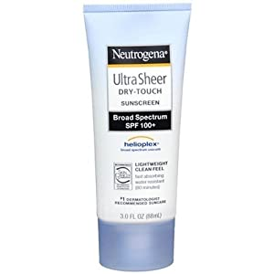 Neutrogena Ultra Sheer Dry-Touch Sunscreen, SPF 100 3 fl oz (88 ml)