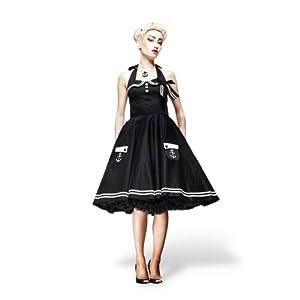Vestido Rockabilly - Motley - Estilo Pin Up - negro marca Elbenwald en BebeHogar.com