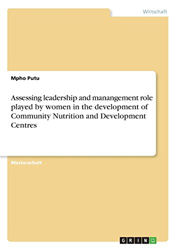 assessing-leadership-and-manangement-role-played-by-women-in-the-development-of-community-nutrition-