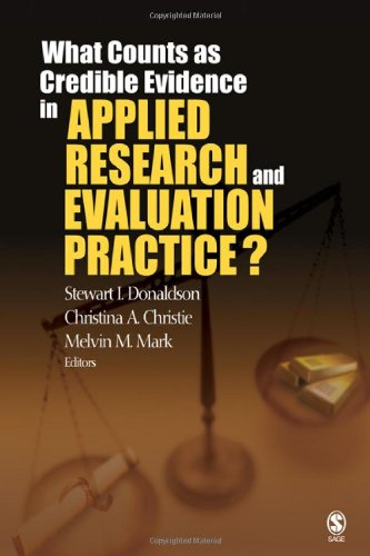 What Counts as Credible Evidence in Applied Research and...