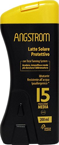 ANGSTROM Latte Solare Protettivo Spf 15 200 Ml