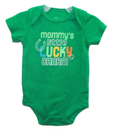 St Patricks Day Baby Outfit front-1053933