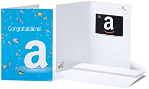 Amazon.com Gift Cards - In a Greeting Card - Free