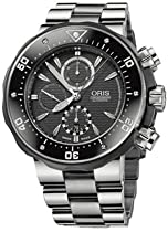 Oris Pro Diver Chronograph Mens Watch Kit 674 7630 71 54 MB