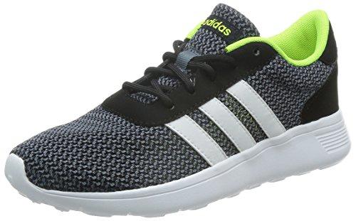 adidas NEO Herren Lite Racer Sneakers, Schwarz (Core Black/Running White/Electricity), 44 EU thumbnail
