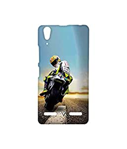 Vogueshell Vintage Car Printed Symmetry PRO Series Hard Back Case for Lenovo A6000 Plus