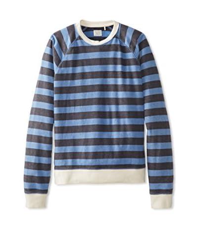 Lucky Brand Men's Stripe Crew Sweater