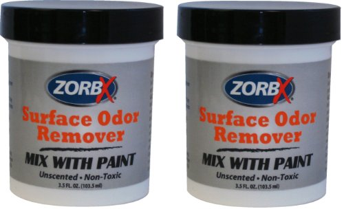 ZORBX Odor Remover Paint Additive (2 Jars) (Non Toxic Paint Remover compare prices)