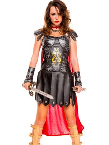 Medieval Warrior Queen Sexy Costume - XLARGE