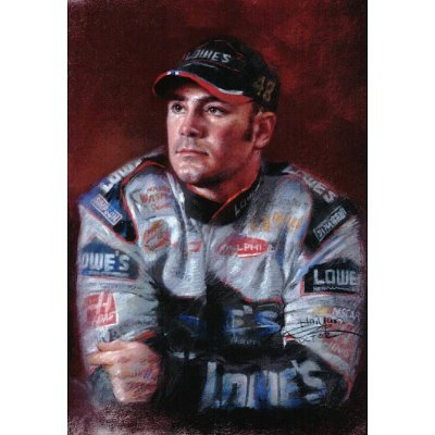 Jimmie Johnson NASCAR 48 poster Chevrolet print RARE - 11x17