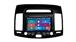 See Crusade Car DVD Player for Hyundai Elantra 2007-2011 Support 3g,1080p,iphone 6s/5s,external Mic,usb/sd/gps/fm/am Radio 7 Inch Hd Touch Screen Stereo Navigation System+ Reverse Car Rear Camara + Free Map Details