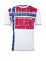 Nebulus Camiseta Manga Corta Flagline (Blanco)