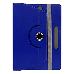 Gadget Decor (TM) PU LEATHER Rotating 360° Flip Case Cover With Stand For Wishtrel ira thing 2 - Dark Blue