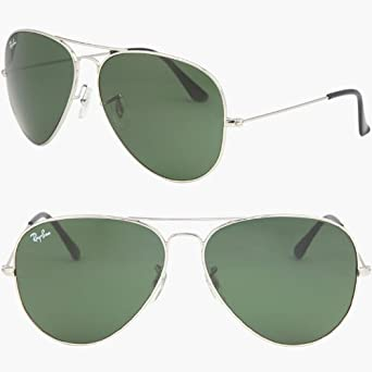 Amazon.com: RAY BAN AVIATOR RB3026 W3277 Sunglasses