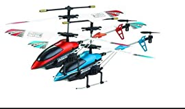 V188 Viefly 3 Channel Helicopter with Gyro (Colors May Vary)