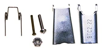 Campbell 916-U Steel Universal Latch Kit for 12-32 Hook