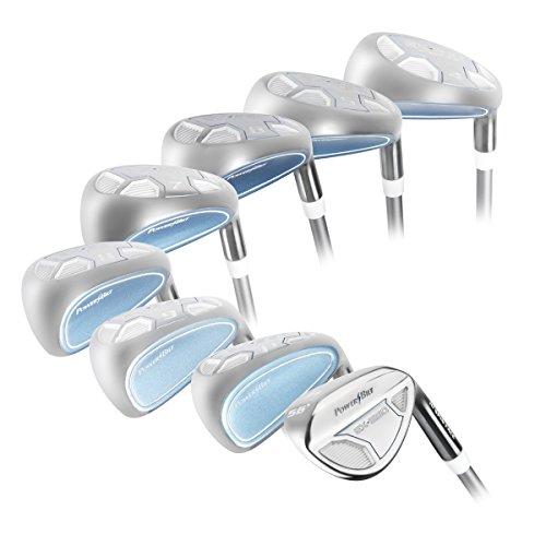Powerbilt Golf EX-550 Hybrid Iron Set (4-SW Women's RH Graphite) (Ping Golf Clubs Irons compare prices)
