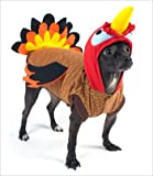 """Turkey Costume for Dogs - Size 1 (8"""" l x 10.5"""" x 12"""" g)"""