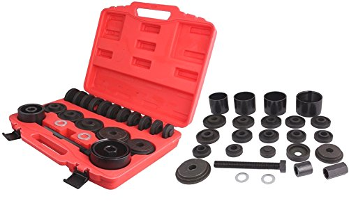 23PC FWD Front Wheel Drive Bearing Removal Adapter Puller Pulley Tool Kit W/Case (Master Power Steering Puller compare prices)