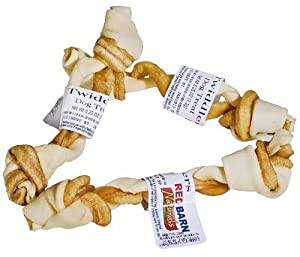 redbarn twiddlers 4 inch pet rawhide treat sticks pet supplies. Black Bedroom Furniture Sets. Home Design Ideas