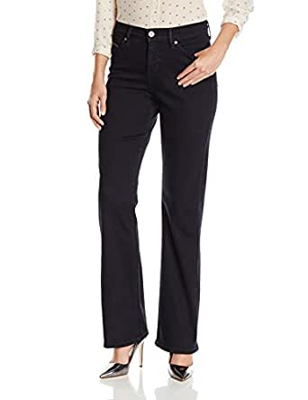 Levi's Women's 512 Perfectly Slimming Bootcut Jean, Black, 2 Medium
