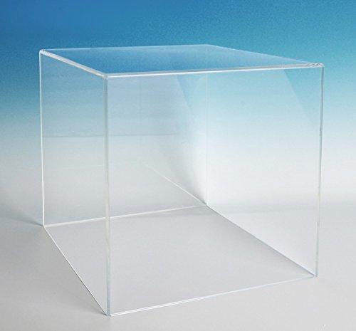 Acrylic Box Case (12Hx12Wx12D - 3/16