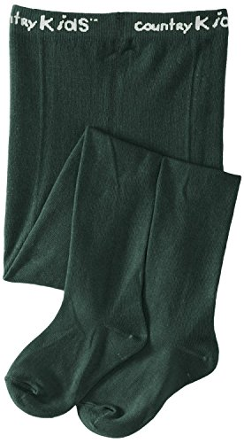 Country Kids Tights - Pine Green - 1- 3 Years / 86-99 cm