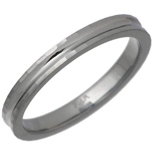PMR ピーエムアール CUT PAIR ピンキー シルバー リング ブラックコーティング 指輪 1~13号 PMR206-BK
