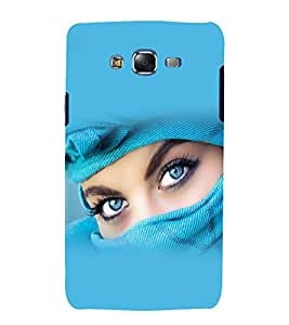 printtech Girl Beautiful Eyes Back Case Cover for Samsung Galaxy Grand Prime G530h