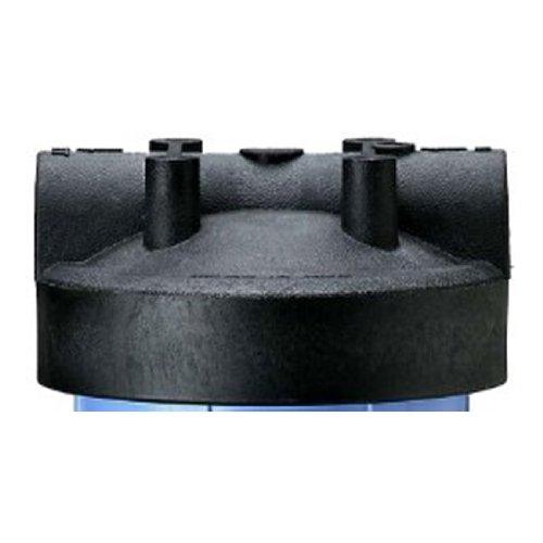 """Pentek 154515 Black Cap for PBH Bag Filter Housing, 1"""" - 1"""